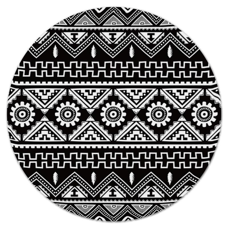 все цены на Коврик для мышки (круглый) Printio Черно-белая графика