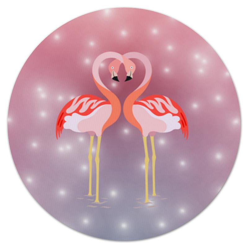 Printio Влюбленные фламинго коврик для мышки сердце printio винтажная пара