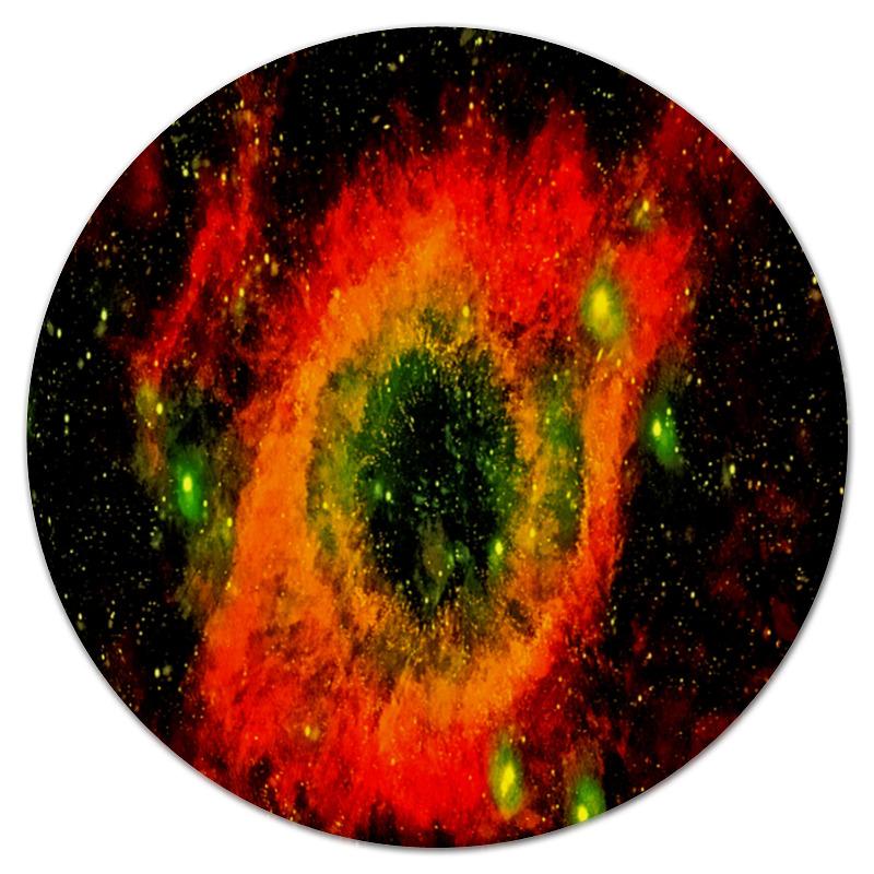 Коврик для мышки (круглый) Printio Вспышки космоса