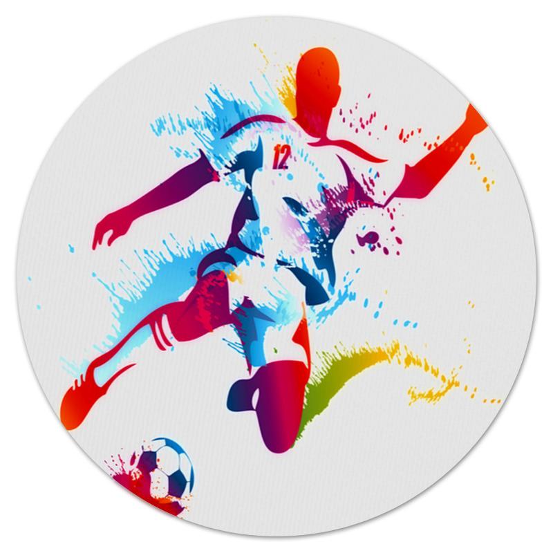 Коврик для мышки (круглый) Printio Футбол train ks432s pu материал no 4 футбол