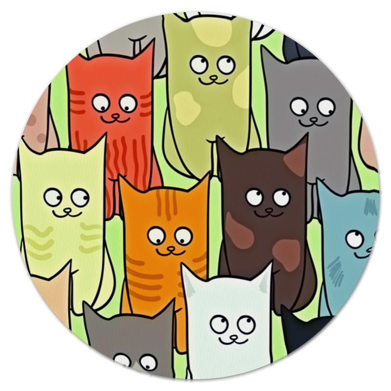 Printio Котята коврик для мышки круглый printio котята
