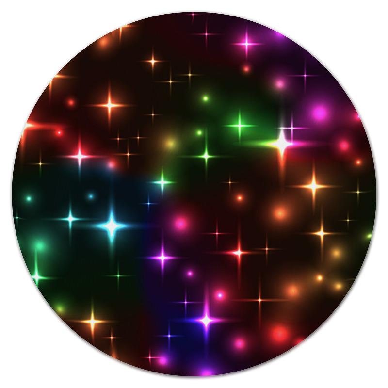 Фото - Коврик для мышки (круглый) Printio Яркие вспышки леггинсы printio яркие вспышки