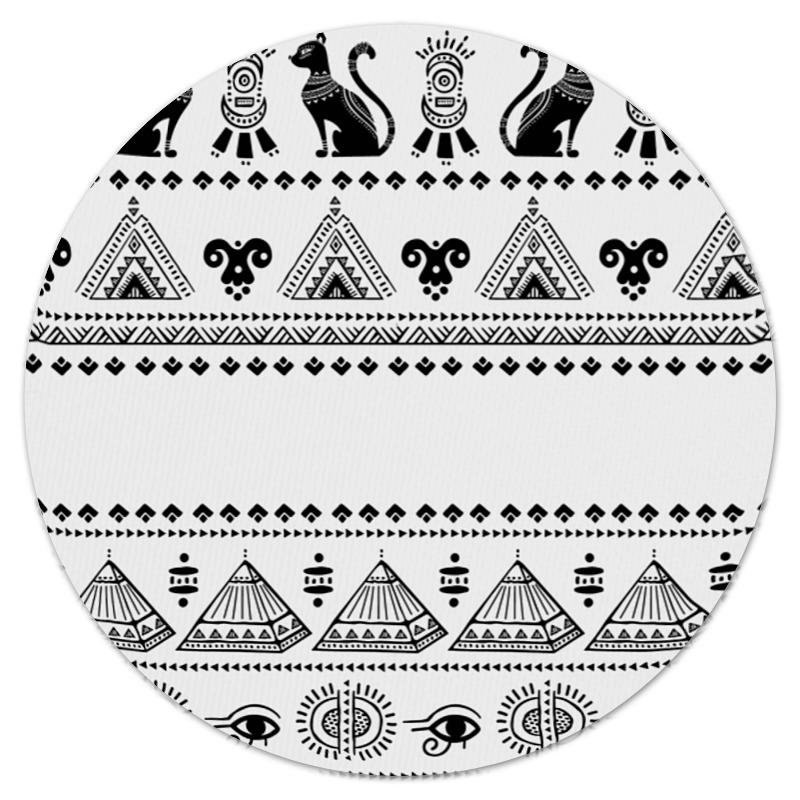 Коврик для мышки (круглый) Printio Египет