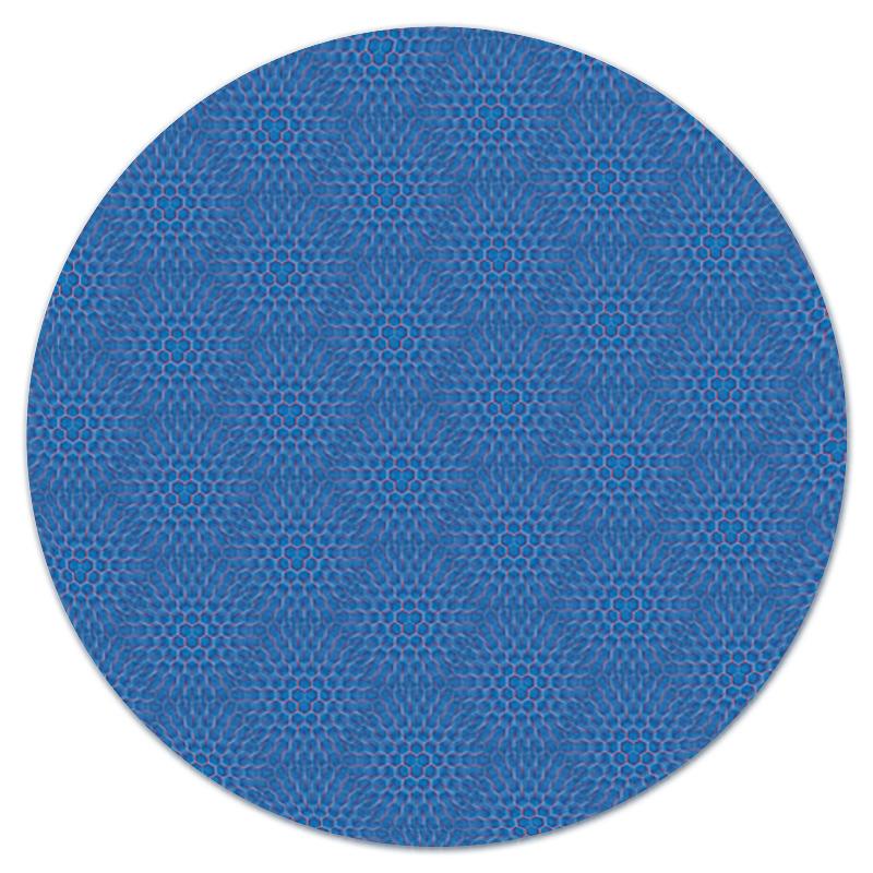 Коврик для мышки (круглый) Printio Геометрия соты лента малярная folsen для деликатных поверхностей 30мм х 25