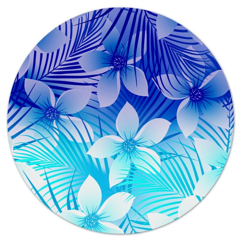 Фото - Коврик для мышки (круглый) Printio Тропические цветы юбка карандаш укороченная printio тропические цветы