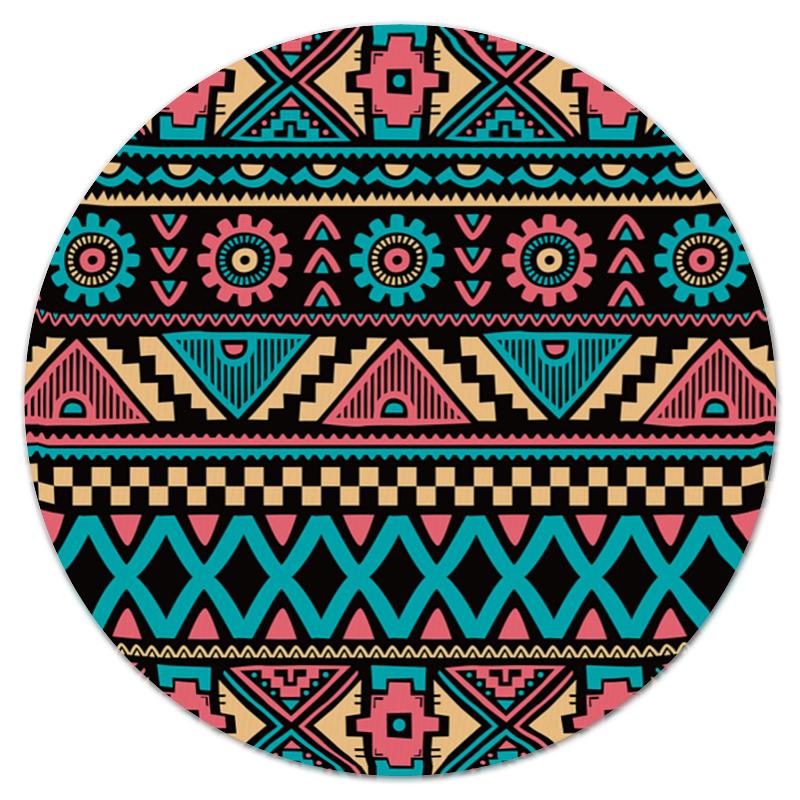 Коврик для мышки (круглый) Printio Красочный орнамент коврик для мышки круглый printio орнамент