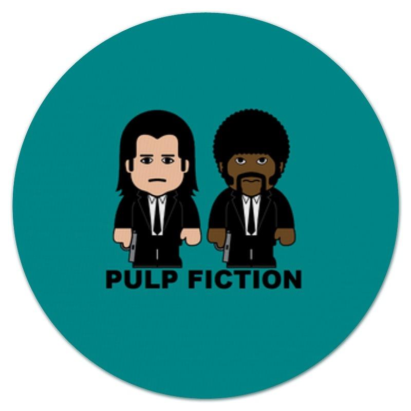 Коврик для мышки (круглый) Printio Pulp fiction