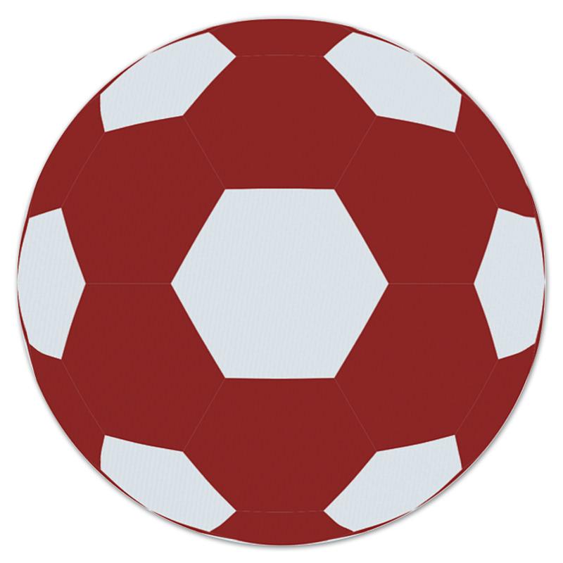 Коврик для мышки (круглый) Printio Красный мяч игрушка для животных каскад мяч мина резиновый цвет красный 10 см