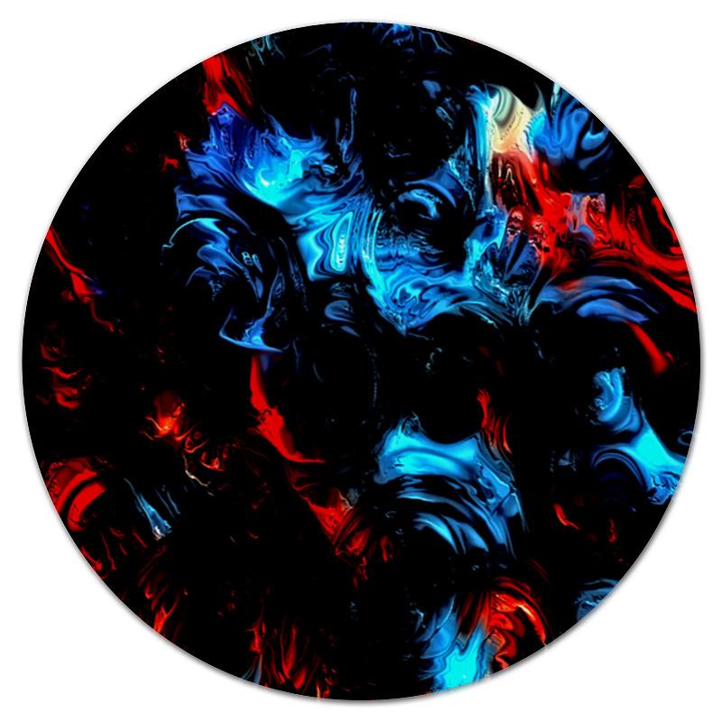 Коврик для мышки (круглый) Printio Смесь цветов