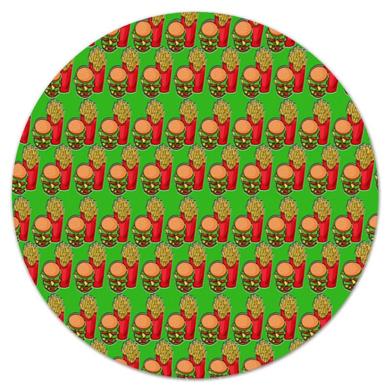 Коврик для мышки (круглый) Printio Фастфуд лонгслив printio фастфуд