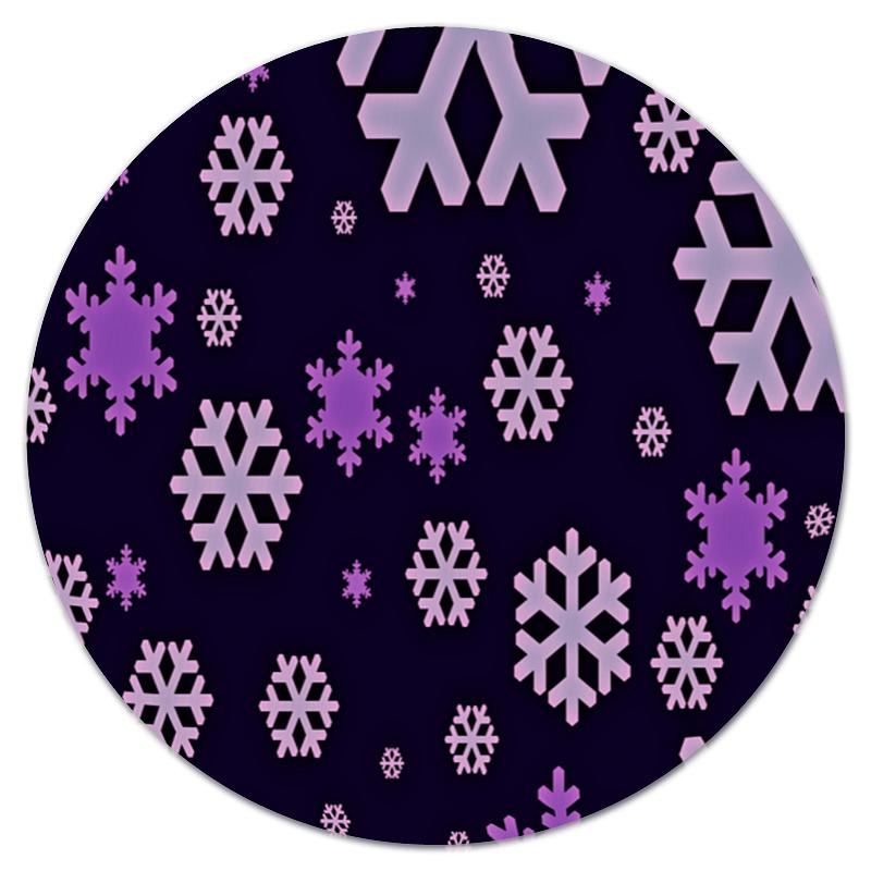 Коврик для мышки (круглый) Printio Снежинки костюм маленькой снежинки 32