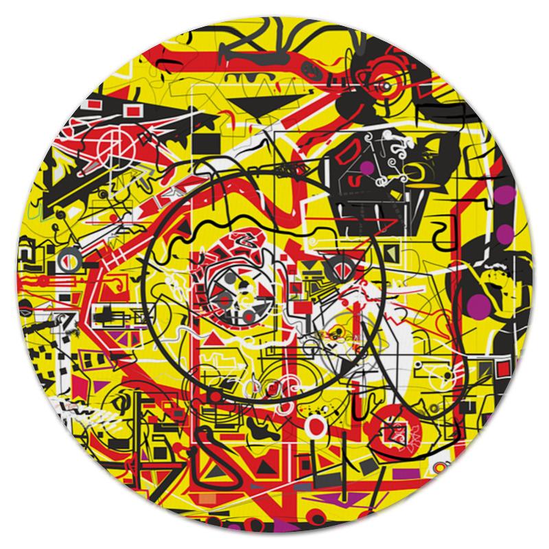 Коврик для мышки (круглый) Printio Паутинка