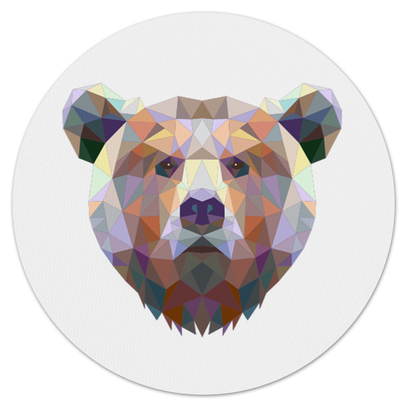 Printio Русский медведь коврик для мышки круглый printio рик и морти