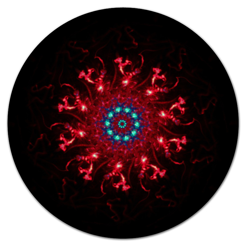 Коврик для мышки (круглый) Printio Неопознанный коврик для мышки круглый printio орнамент