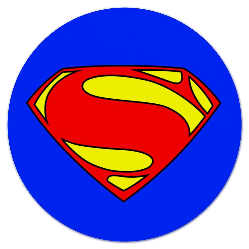 Коврик для мышки (круглый) Printio Superman superman