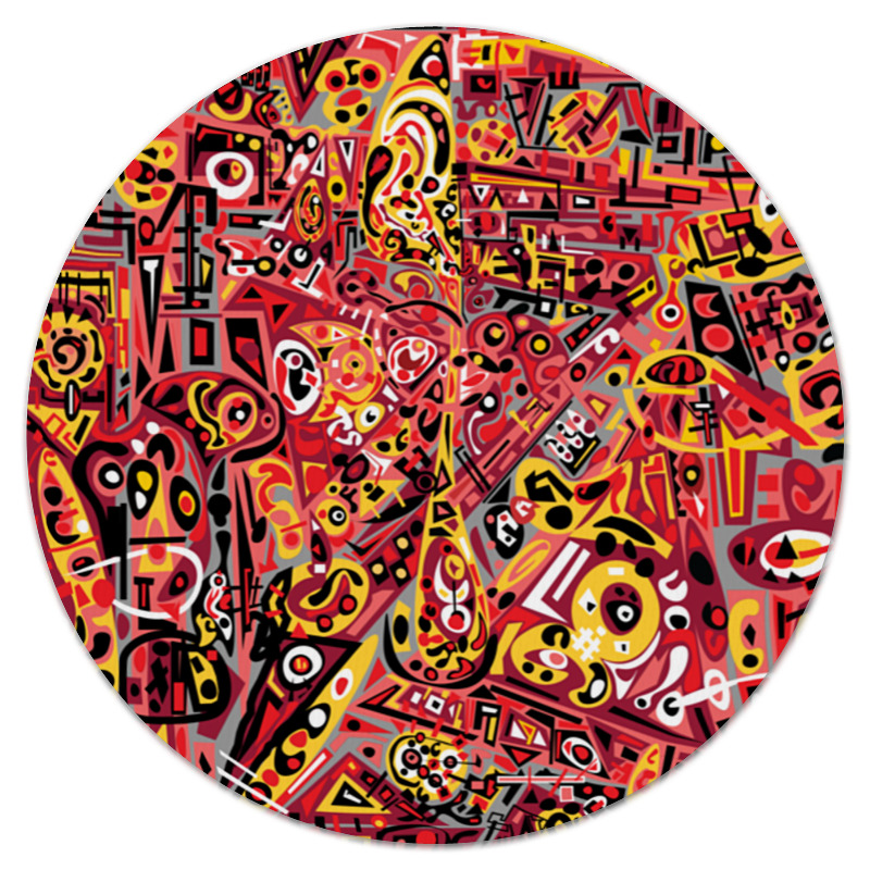 Коврик для мышки (круглый) Printio Zdermm431