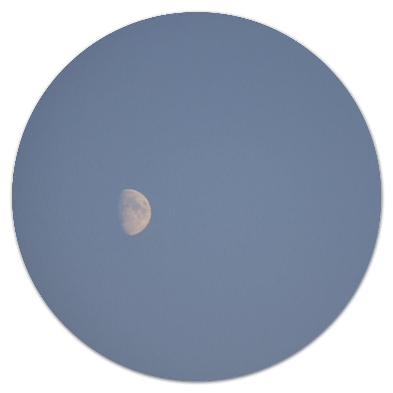 Коврик для мышки (круглый) Printio Лунное небо коврик для мышки printio небо космоса