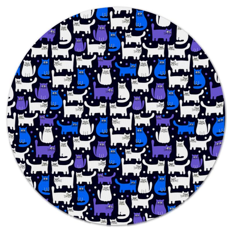 Коврик для мышки (круглый) Printio Котятки