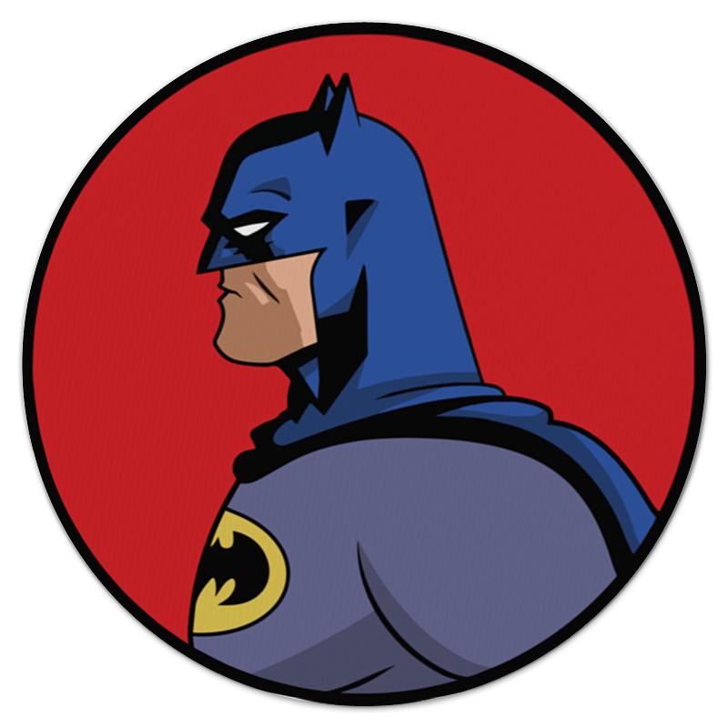 Коврик для мышки (круглый) Printio Batman / бэтмен