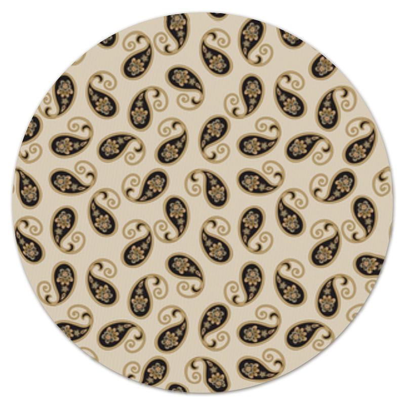 Коврик для мышки (круглый) Printio Пейсли (классика) коврик для мышки printio разноцветные пейсли индийский огурец