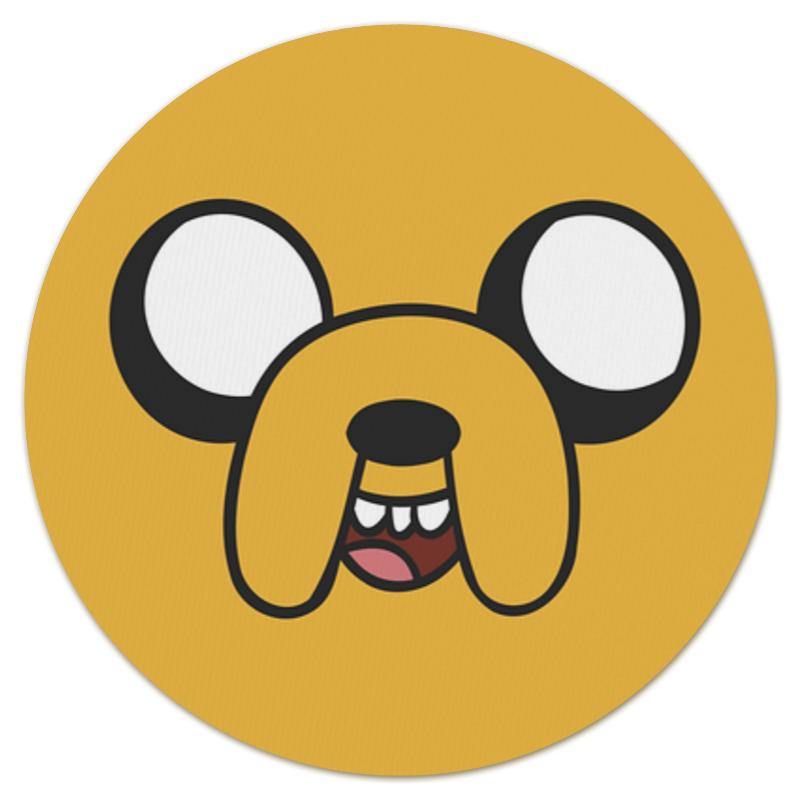 Коврик для мышки (круглый) Printio Jake the dog маска для сноуборда ashbury kaleidoscope jake kuzyk