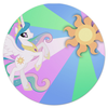 "Коврик для мышки (круглый) ""Princess Celestia Color Line"" - magic, celestia, friendship, princess"