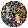 """Коврик для мышки (круглый) """"Рик и Морти"""" - прикол, юмор, мультфильм, шутки, рик и морти"""