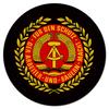 """Коврик для мышки (круглый) """"Герб ГДР"""" - герб, гдр, восточная германия"""