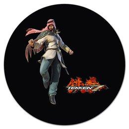 "Коврик для мышки (круглый) ""Tekken 7"" - games, tekken, tekken 7"