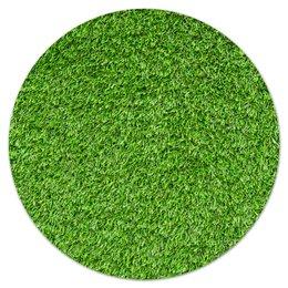 """Коврик для мышки (круглый) """"Травка"""" - весна, травка, трава, лес, зеленый"""