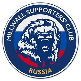 "Коврик для мышки (круглый) ""Millwall MSC Russia mouse pad"" - millwall, millwallfc, миллуолл, russian lions"