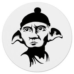 "Коврик для мышки (круглый) ""Free Gollum"" - че гевара, властелин колец, хоббит, фродо, голлум"