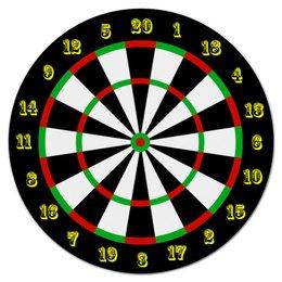 "Коврик для мышки (круглый) ""Дартс"" - darts, дартс"