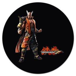 "Коврик для мышки (круглый) ""Tekken 7"" - tekken, tekken 7"