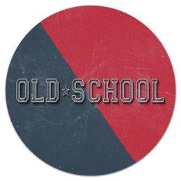 """Коврик для мышки (круглый) """"Old School Style"""" - арт, style, стиль, олд скул, old school"""
