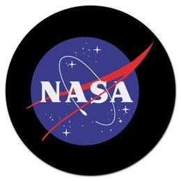 "Коврик для мышки (круглый) ""Space"" - космос, наука, астрономия, the spaceway"