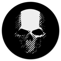 "Коврик для мышки (круглый) ""Tom Clancy's Ghost Recon Wildlands"" - игры, для геймеров, ghost recon, tom clancys ghost recon wildlands, tom clancy"