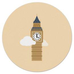"""Коврик для мышки (круглый) """"Big Ben"""" - лондон, биг-бен, big ben"""