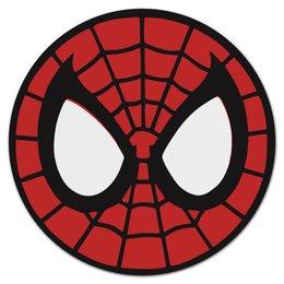 """Коврик для мышки (круглый) """"Spider-man / Человек-паук"""" - мультфильм, комиксы, фильм, человек-паук, spider-man"""