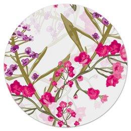 """Коврик для мышки (круглый) """"природа"""" - лето, цветы, весна, природа, цветочки"""