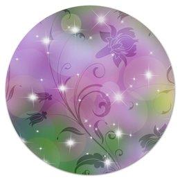 """Коврик для мышки (круглый) """"Лилия"""" - цветок, лилия"""