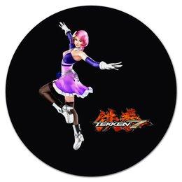 "Коврик для мышки (круглый) ""Tekken 7 "" - games, tekken, tekken 7"