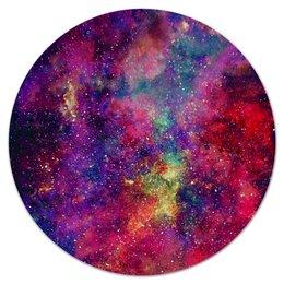 """Коврик для мышки (круглый) """"Космос"""" - space, космос, cosmos, galaxy, космический дизайн"""