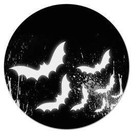 """Коврик для мышки (круглый) """"Batman"""" - comics, batman, dc"""