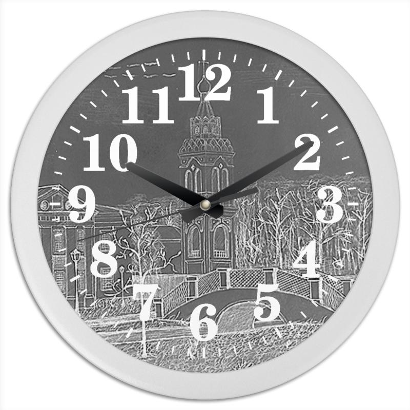 Printio Роза. часы круглые из пластика printio purple