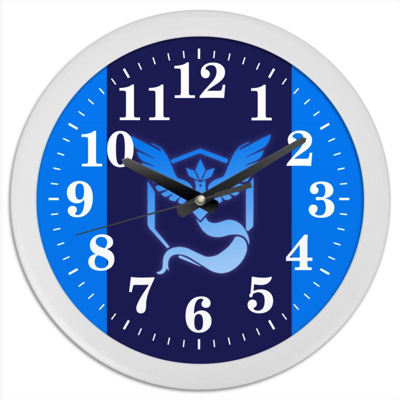 Часы круглые из пластика Printio Pokemon go: mystic team женские часы go girl only go 696829