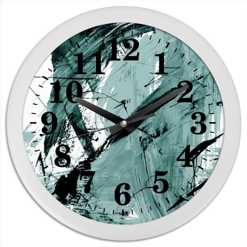 Часы круглые из пластика Printio Волна часы круглые из пластика printio котенок в кружке