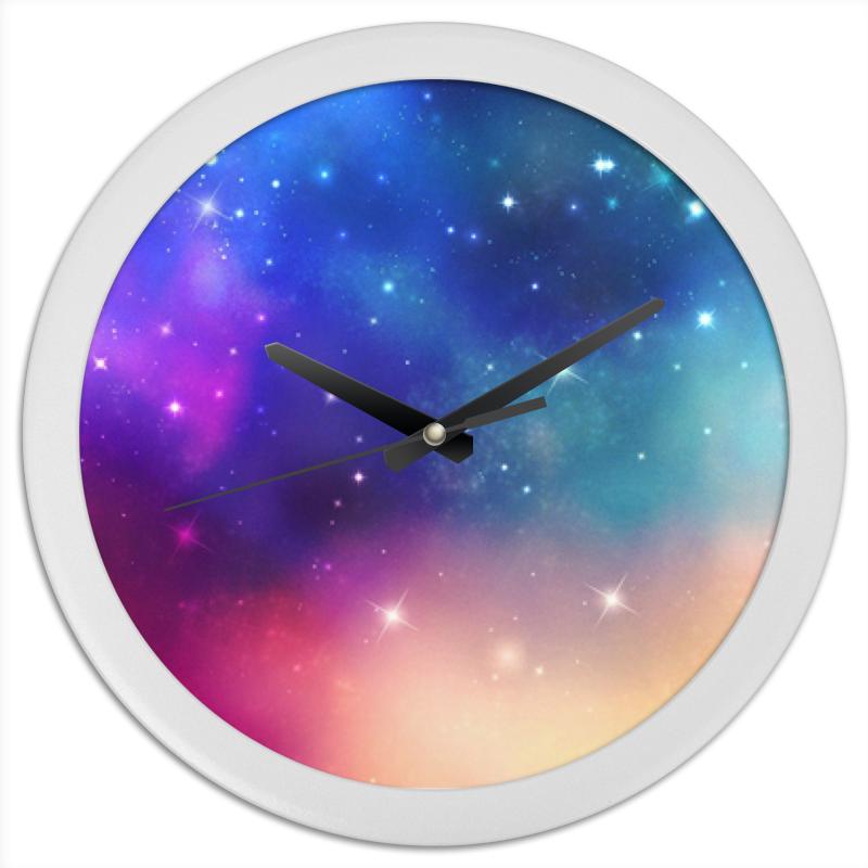 Printio Часы космос часы круглые из пластика printio purple