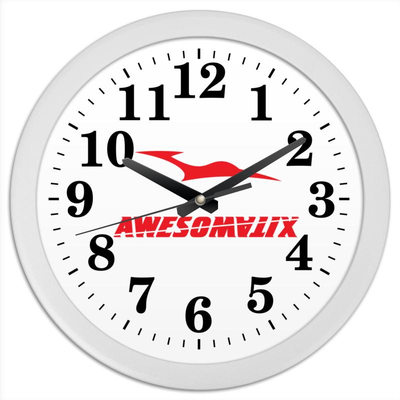 Printio Awesomatix часы круглые из пластика printio часы жар птица