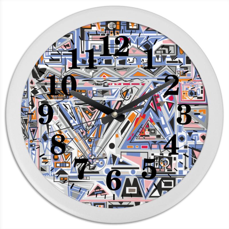 Часы круглые из пластика Printio Ташизм часы круглые из пластика printio камуфляж